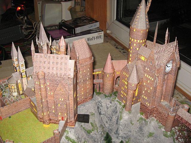 mychaoz papercraft de hogwarts