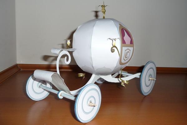 Papercraft Carroza de Cenicienta Disney | Articuweb